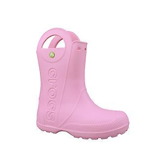Buty Crocs obsługiwać go deszcz Boot dzieci 12803-6I2 dzieci gumowe