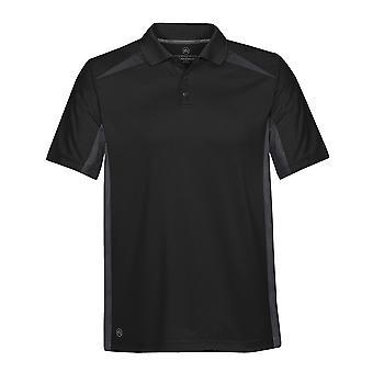Stormtech Mens Two Tone Lightweight Polyester Polo Shirt