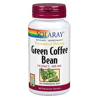 Solaray Green Coffe Extract 400 mg 60 Vegetable Capsules