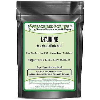 Taurine (L) - Amino Sulfonic Acid - Fine Powder - Free Form Amino Acid