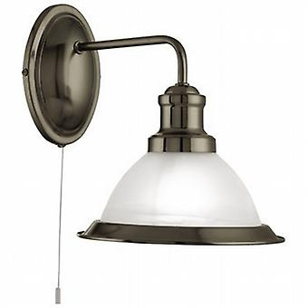 Searchlight 1481AB Bistro Single Wall Light in Antique Brass