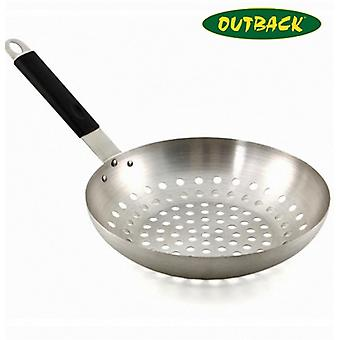 Outback Stainless Steel Wok