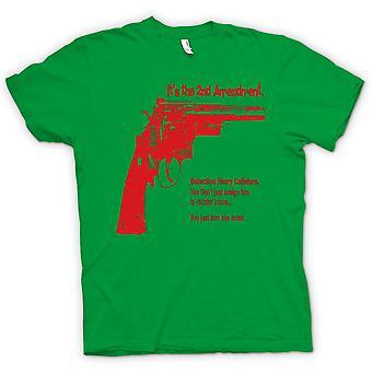 Womens T-shirt - Dirty Harry 44 Magnum - film