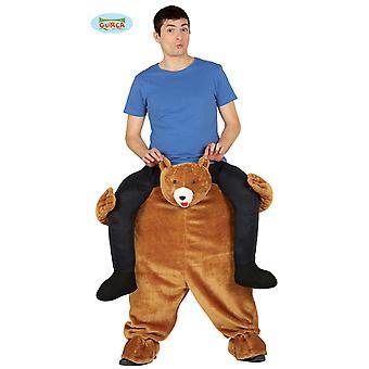 Ours grizzli ferroutage costume portant costume