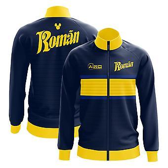 2019-2020 Boca Juniors Juan roman Riquelme koncept track jakke