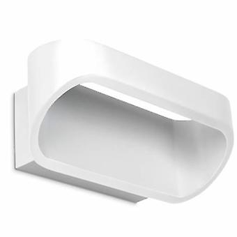 1 Light Up & Down Small Wall Light White