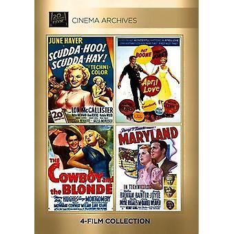 Scudda-Hoo Scudda-Hay / April Love / the Cowboy [DVD] USA import