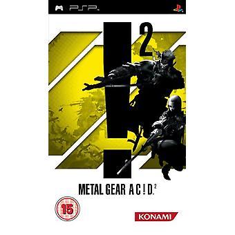 Metal Gear Acid 2 (PSP) - Usine scellée