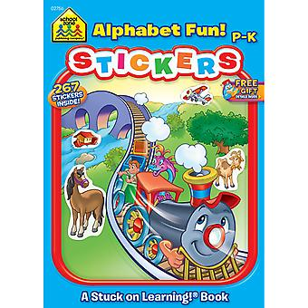 Sticker Book Alphabet Fun Szstkr 2756