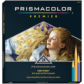Prismacolor Premier couleur crayons 24 Pkg Verithin 2427