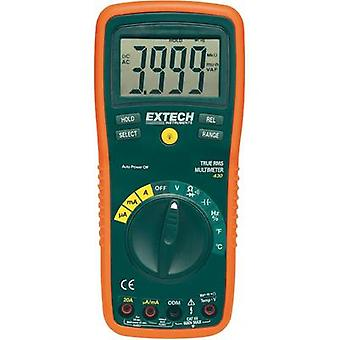Handheld multimeter digital Extech EX430 Calibrated to: Manufacturer standards CAT III 600 V Display (counts): 4000