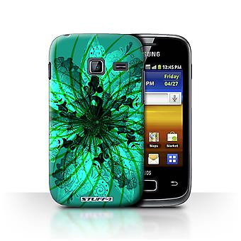 STUFF4 Case/Cover for Samsung Galaxy Y Duos/S6102/Spiral/Symmetry Pattern