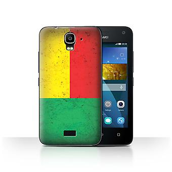STUFF4 Case/Cover for Huawei Y3/Y360/Benin/Beninese/African Flag
