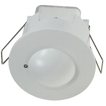 Cover 360° HF LED - installation - motion detector suitable, 8 m detection white