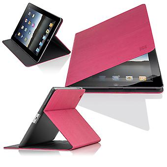 Slim Angle Cover case for Apple iPad Air 2 (iPad 6) - Hot Pink