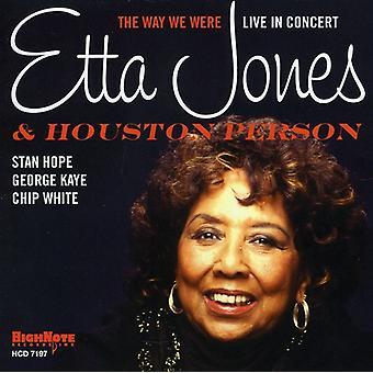 Etta Jones & Houston Person - Way We Were [CD] USA import
