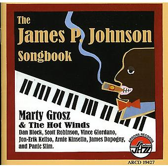 Marty Grosz & the Hot Winds - James P Johnson Songbook [CD] USA import