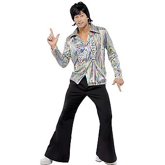 70s disco Dancer Costume colorful retro men's