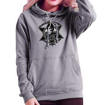 Black Star Ninja Ninjutsu Dojo American Ninja Women's Hooded Sweatshirt