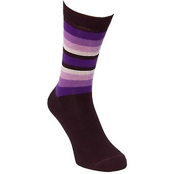 40 Colori Gradient Striped Socks - Purple