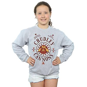 Harry Potter Girls Chudley Cannons Logo Sweatshirt