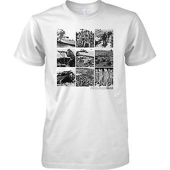 Guerra delle Falkland Foto Collage - Mens T-Shirt