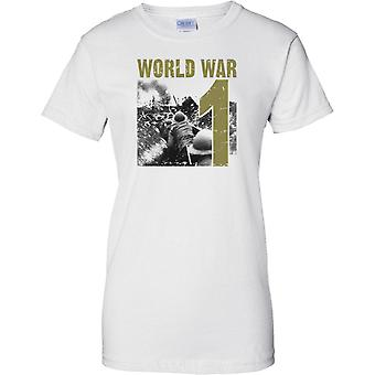 World War 1 - Trench Warfare - Ladies T Shirt