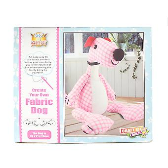 Create Your Own Fabric Dog Sewing Art & Craft Kit