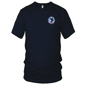 US Navy SS-279 USS Snook Embroidered Patch - Mens T Shirt