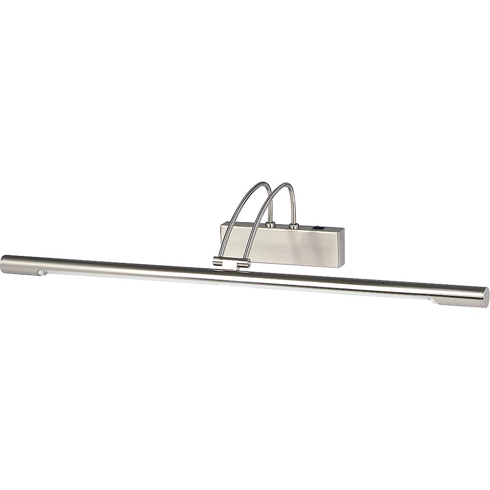 Searchlight 8343SS Modern Low Energy Satin Silver Picture Light