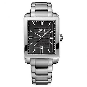 Hugo Boss 1512773 Stainless Steel Rectangular Face Men's Watch