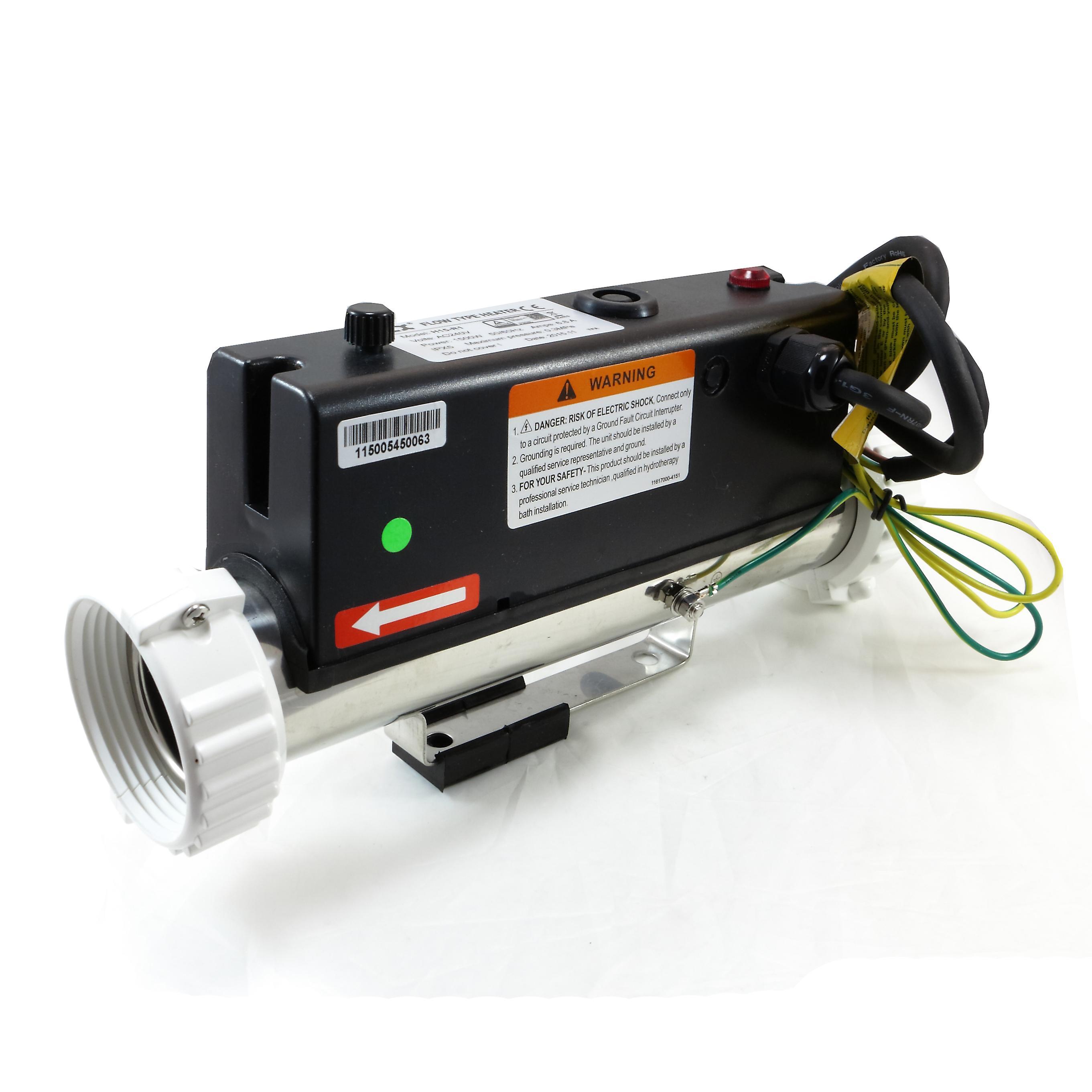 Подогреватель воды LX H15-R1 1500W (1.5kW) | Гидромассажная ванна | Спа | Вихревая ванна | Потока типа отопителя | 230В/50 Гц