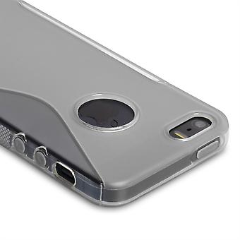 Caseflex Iphone 5 And 5s S-Line Gel Case - Clear