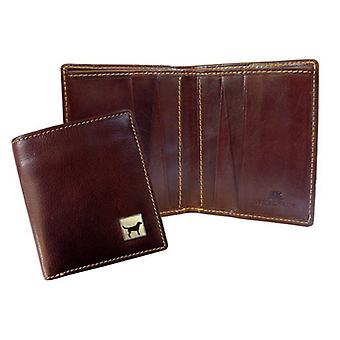 Tyler and Tyler Labrador Jeans Wallet - Dark Brown