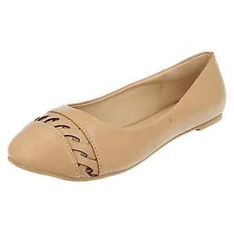 Ladies Anne Michelle Slip On Flat Shoes F80231