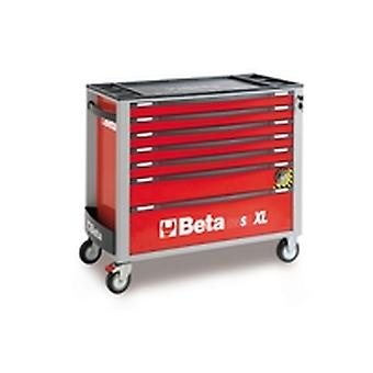 C24SA-X/L 7/R Beta Mobile Roller Cabinet With Assortment Of 151 Tools