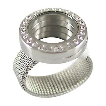 Stainless Steel Ring For Floating Charms Fl3801