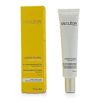Decleor Hydra Floral White Petal Roman Chamomile Protective CC Cream SPF50 - 40ml/1.3oz