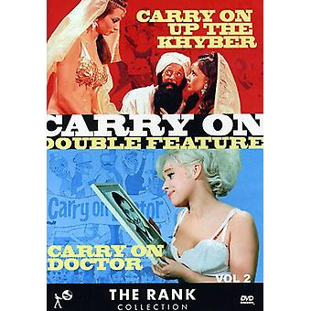 Vol. 2-Carry on Doctor/Carry on Up the Khyper [DVD] USA import