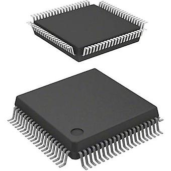Embedded microcontroller SAF-C161S-L25M AA MQFP 80 (14x14) Infineon Technologies 16-Bit 25 MHz I/O number 63