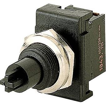 Pushbutton switch 250 Vac 6 A 1 x Off/On Marquardt