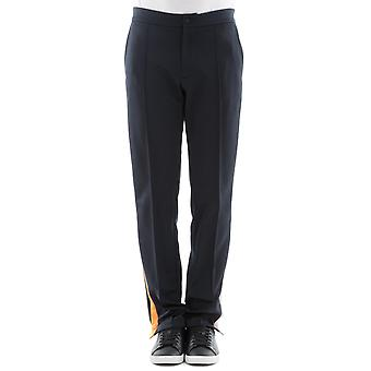 Valentino men's PV3RB5674SEQR0 black polyester joggers