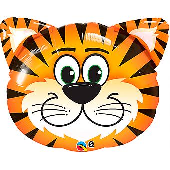 Foil balloon Tiger face Tickeld Tiger about 76 cm