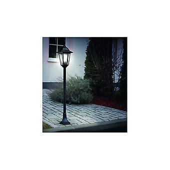 Eglo Musk Lanterna Outdoor Black Lamp Post Lantern Light