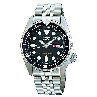 Seiko Diver's Automatic Stainless Steel Black Dial Men's Watch SKX013K2