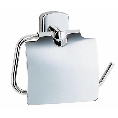 Cabin Toilet Roll Holder with Cover - Polished Chrome CK3414