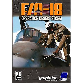 FA-18 Operation Desert Storm (PC)