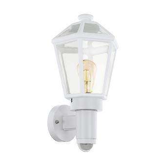 Eglo アル壁光/1 E27 M.Sensor ワイス モンセーリチェ