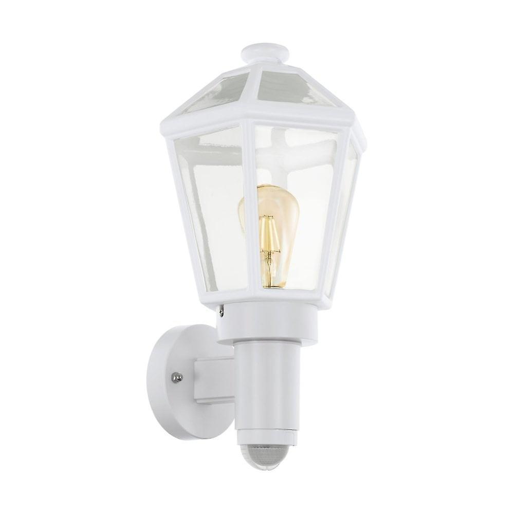 Eglo Al Wall lumière 1 E27 M.Sensor Weiss Monselice