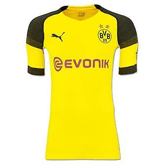 2018-2019 Borussia Dortmund Puma autentico evoKNIT maglia da calcio Home